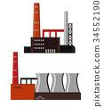 building, industrial, plant 34552190