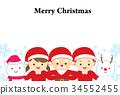 ซานต้า,เด็ก,เด็กๆ 34552455