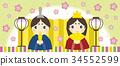 女孩的节日 女儿节 女孩节 34552599
