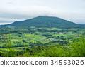 view, aerial, rural 34553026