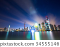 cityscape and skyline of shanghai 34555146