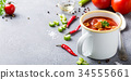 Homemade tomato soup 34555661