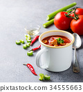 Homemade tomato soup 34555663