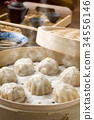 Small steamed buns 34556146