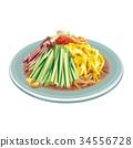 冷拉麵 食物 食品 34556728