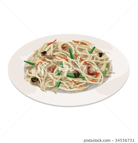fried rice vermicelli, food, foods 34556731