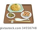 fried, rice, dumpling 34556748