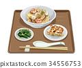 burnt, rice, dumpling 34556753