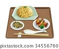 炒飯 春捲 食物 34556760