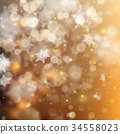 background, glitter, snow 34558023