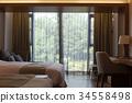 침대, 침실, 방 34558498