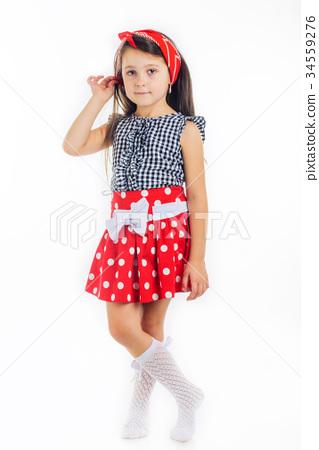 beautiful girl 7 years 34559276