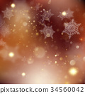 background, glitter, snow 34560042