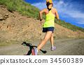 跑步 运行 帽子 34560389