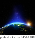 Thailand night 3d rendering planet 34561300