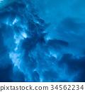 Sky rain, wind and dramatic storm 34562234