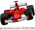 F1 Race Car 34562288