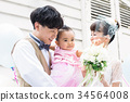 웨딩, 결혼식, 신랑 34564008