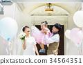 婚禮 新郎 家庭 34564351