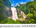 Chiang Mai Waterfall 34564809