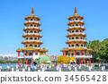 Dragon Tiger Tower in Kaohsiung, Taiwan 34565428