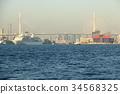 osaka harbor, floating hotel, cruise 34568325