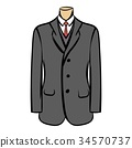cartoon, suit, jacket 34570737