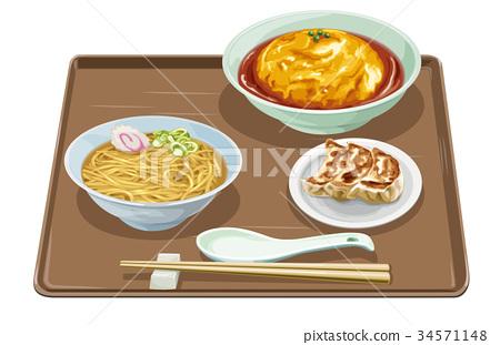 tenshindon, dumpling, pelmeny 34571148