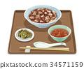 Mabo bowl set meal 1 34571159