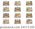 Chinese set meal list 34571165