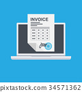 invoice invoicing online service pay 34571362