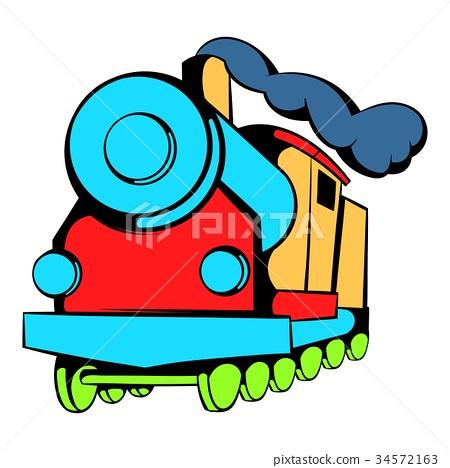 Locomotive icon, icon cartoon 34572163