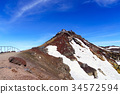 山峰 富士山 火山山峰 34572594
