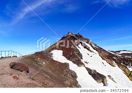 日本最高的山富士肯嘎美山3776米 34572594