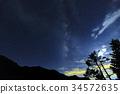 银河 星空 星星 34572635