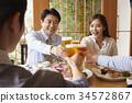 新員工,餐廳,商業 34572867