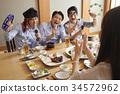 商人 女商人 餐廳 34572962