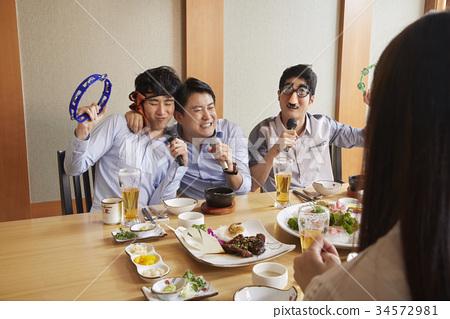 新員工,餐廳,商業 34572981