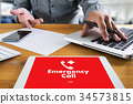 Emergency Call Center Service Urgent Accidental  34573815