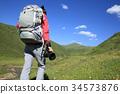 taking photo backpacker 34573876