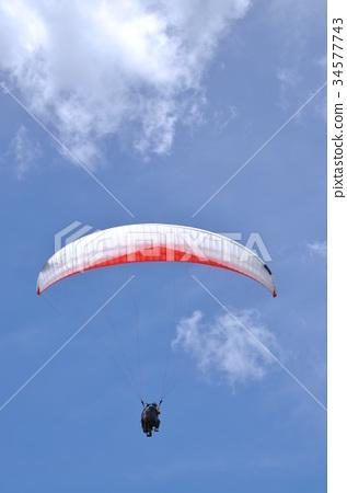 天空滑翔翼 34577743