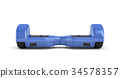 3d board blue 34578357
