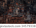 buddha statue in watchairattanaram 34579338