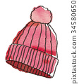 Hat illustration 34580650