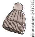 Hat illustration 34580651