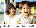 parenthood, parent and child, portrait 34585406