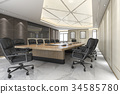 business meeting room on high rise office building 34585780