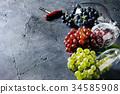 Variety of grapes 34585908