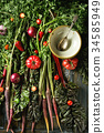 vegetables, carrot, tomato 34585949