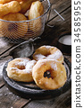 Homemade donuts with sugar powder 34585955